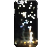Blurry fireworks iPhone Case/Skin