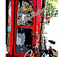 Hello London by cheeckymonkey