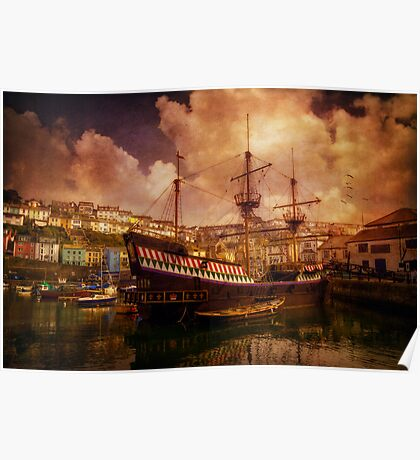 Old Ship Poster