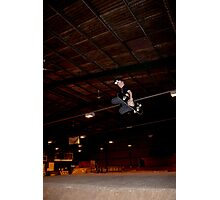 Huge Grab Air Over Death Box Photographic Print