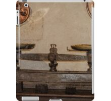 Antique Weighing Scales iPad Case/Skin