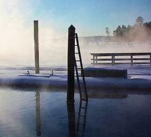-Open Water - Brandy Pond by T.J. Martin