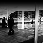Ghosts walk in windows  by Berns