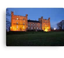 Lumley Castle Canvas Print