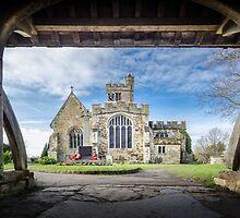 Biddenden Church by Sue Martin