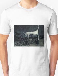 the old blind guard dog..90cmx70cm T-Shirt