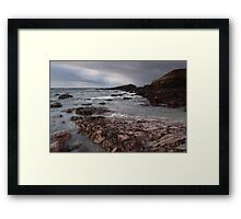 irish atlantic shore Framed Print