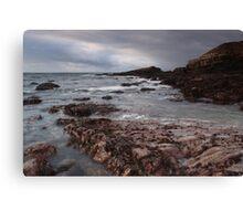 irish atlantic shore Canvas Print