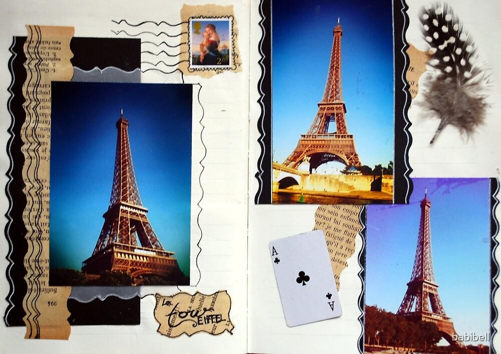 Les Pages de la Tour by Claire Elford