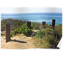 Del Mar Ocean View  Poster