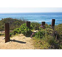 Del Mar Ocean View  Photographic Print