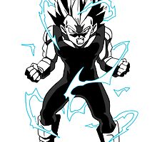 Training To Go Super Saiyan Vegeta DBZ by Bamboer
