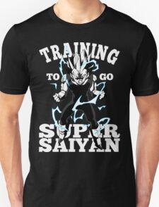 Training To Go Super Saiyan Vegeta DBZ T-Shirt