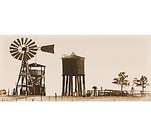 #554  Farm Scene 1880 Photographic Print