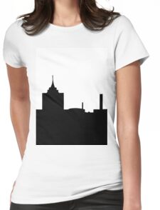 City scape Womens Fitted T-Shirt