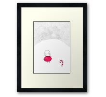 Merry X-Mas from Candyland Framed Print
