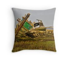 Fleetwood Wrecks Throw Pillow