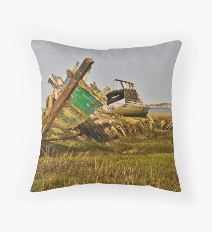 Fleetwood Wrecks Throw Pillow