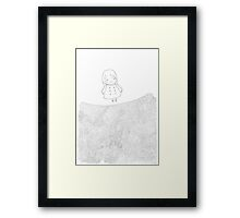 Where should I go from here Framed Print
