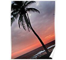 Beach Sunset Poster