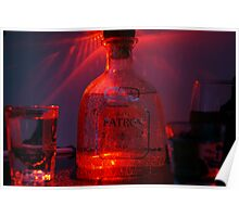 Patrón in Red Poster