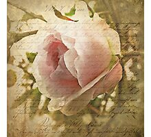 A Love Letter Photographic Print