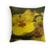"""""""Following the Orchid Trail""""-Conservatory Orchids Throw Pillow"""