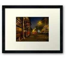 Moscow steampunk (sketch) Framed Print