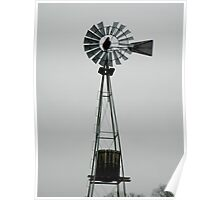 Windmill Tower Poster