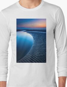 Blue Beach Long Sleeve T-Shirt