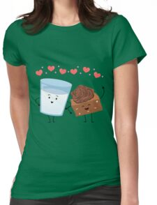 Brownie's BFF Womens Fitted T-Shirt