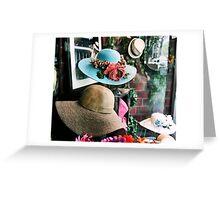 Luxurious.. flirty  Greeting Card