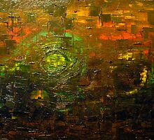 Oily Abstract by Jak Savage (aka Unbeknown)