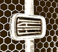 Fiat iPad Case - Fiat 128 Honeycomb Grill  by melodyart