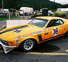 1970 Trans-Am Boss 302 Mustang by Steve Mezardjian