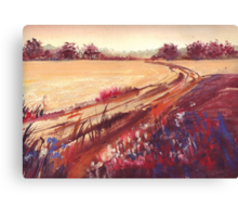 Strensall Field Canvas Print