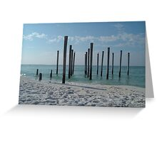 Destin Greeting Card