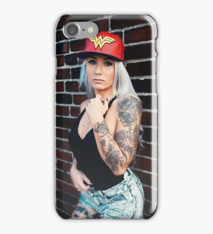 Tattoo Women  iPhone Case/Skin