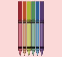 Rainbow Crayon Kids Clothes