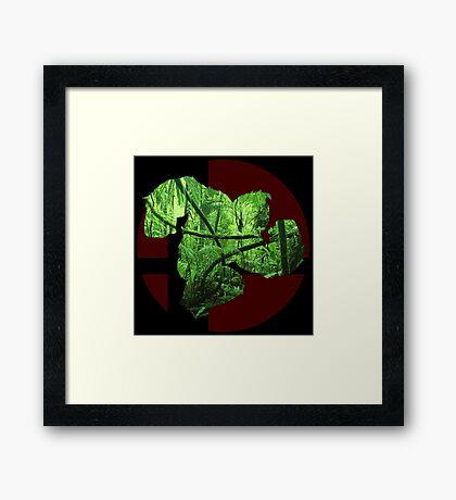 Sm4sh - Donkey Kong Framed Print