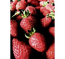 Strawberry Bliss Photographic Print
