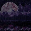 Birds n' Moon by henrikn