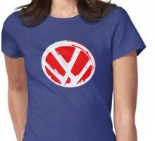 VW logo shirt  Womens Fitted T-Shirt