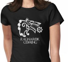 Ragnarok is Coming (redesign) Womens Fitted T-Shirt