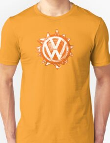 Orange VW Swirl T-Shirt