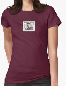 Tesla Stamp (Croatia) Womens Fitted T-Shirt