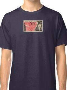 Tesla Stamp (Czechoslovakia) Classic T-Shirt