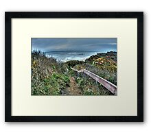 Happy Trails to You.... Framed Print