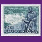Tesla Stamp (Yugoslavia) II by SOIL