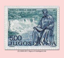 Tesla Stamp (Yugoslavia) II One Piece - Short Sleeve